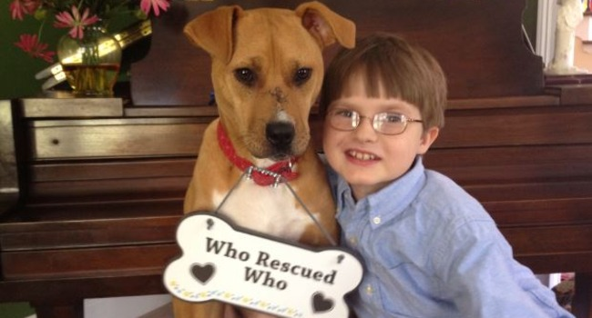 Jonny Xena Boy With Autism Has An Incredible Bond With His Rescue